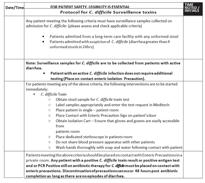 cdad c diff cdc guidelines