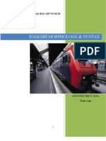 english morphology and syntax pdf