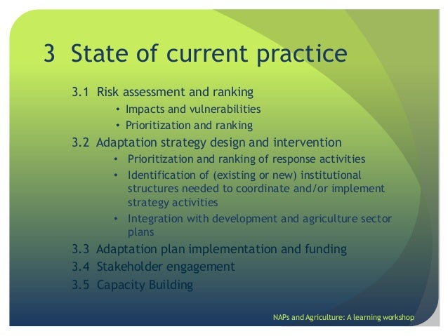risk assessment guidelines for the agriculture sector