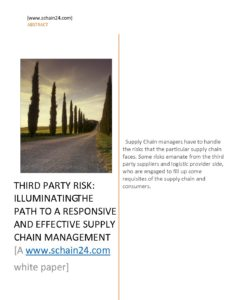 thesis quality risk management in supply chain pdf