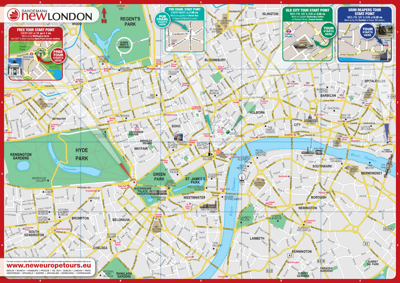 what to visit in london pdf