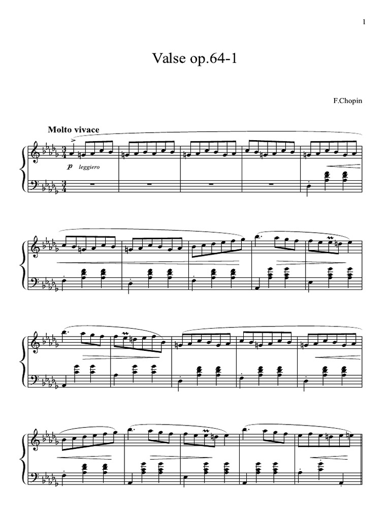 spring waltz chopin partition piano pdf