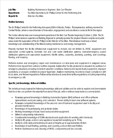 electrical engineer job description pdf