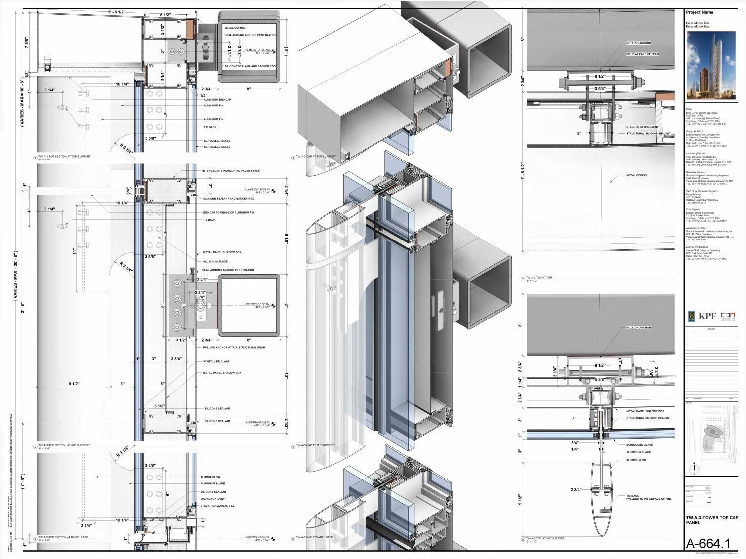 curtain wall construction details pdf