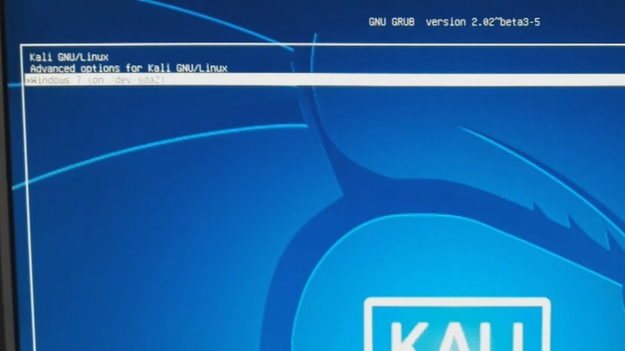 how to remove kali linux dual boot pdf