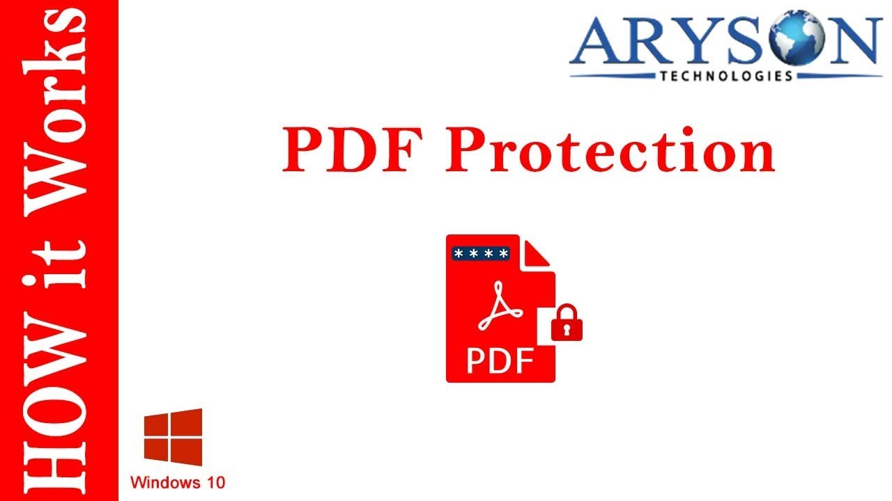 how to open password protected pdf file without password online