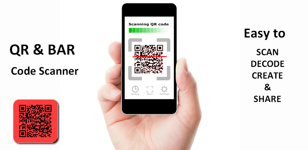 how to read qr code with application