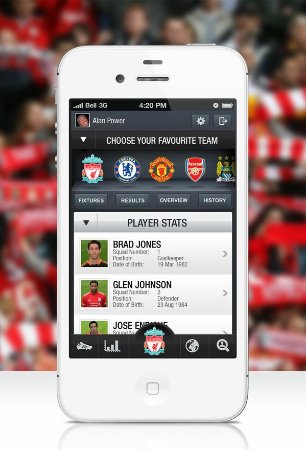 best application for football matches