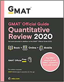 gmat official guide 2019 quantitative review book online free download
