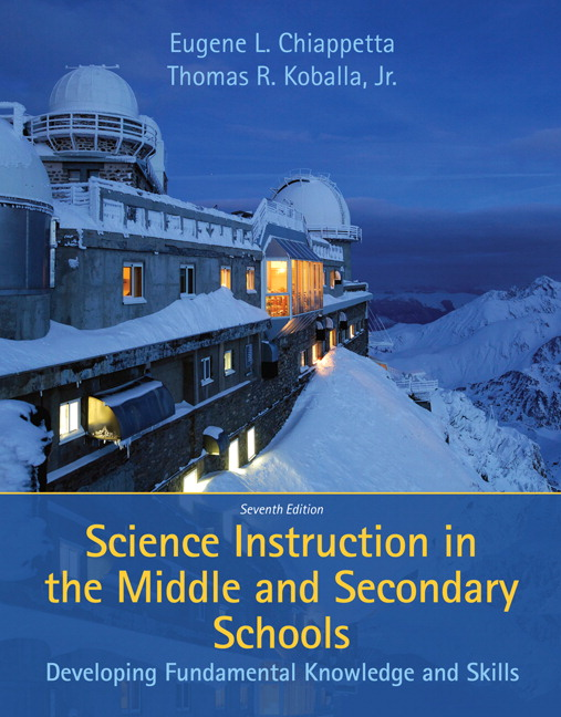 instruction in middle and secondary science torrent chiappetta