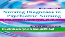 psychiatric nursing care plans pdf