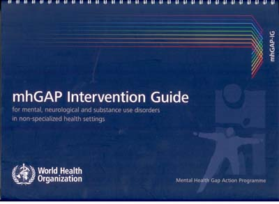 which countries support the mhgap humanitarian intervention guide mhgap-hig
