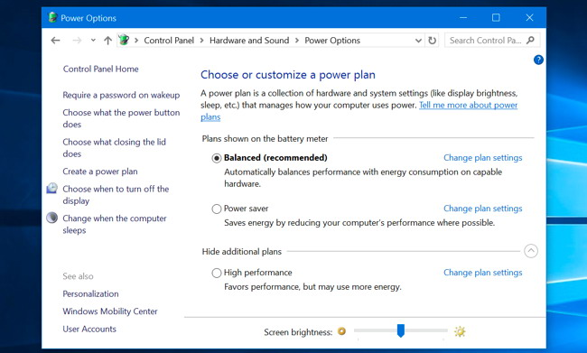 windows application to make screen brighter